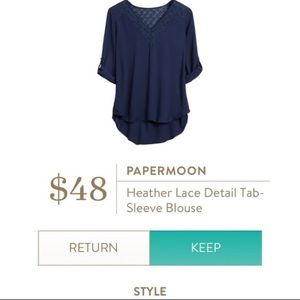 Papermoon for Stitch Fix   Cute Blouse!